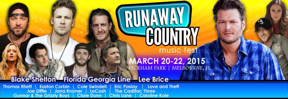 Runaway Country Music Fest Cleanup - Keep Brevard Beautiful - Florida