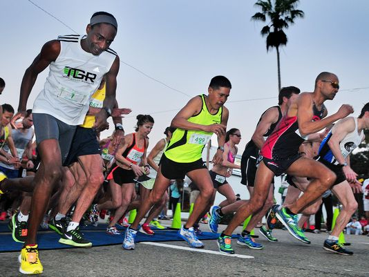 Melbourne music marathon races (Photo: CRAIG RUBADOUX/FLORIDA TODAY)