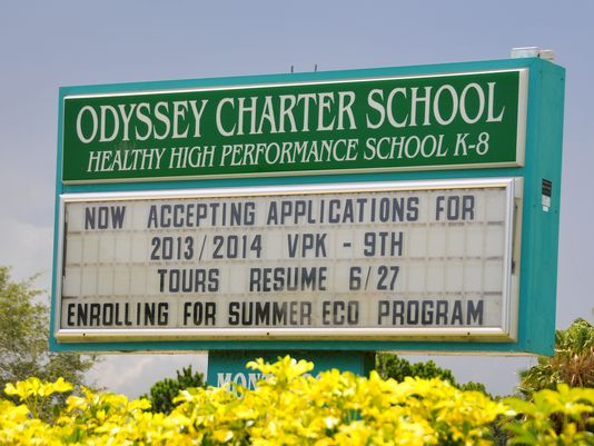 Odyssey Charter School Image Malcolm Denemark Florida Today