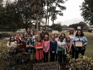 Palm Bay Elem SEA Win garden